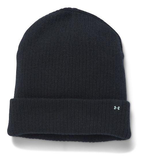Womens Under Armour Favorite Knit Beanie Headwear - Black