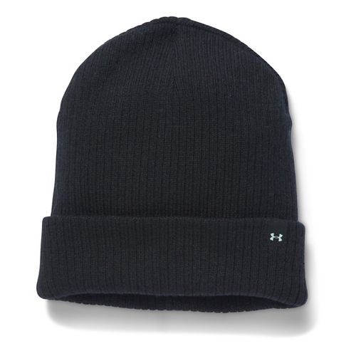 Womens Under Armour Favorite Knit Beanie Headwear - Black