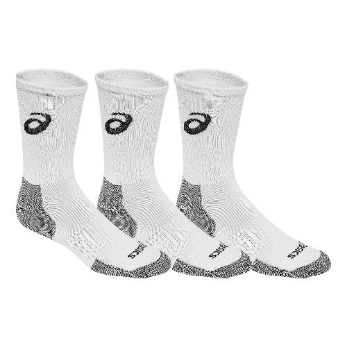ASICS Game Crew 9 Pack Socks - White/Black S