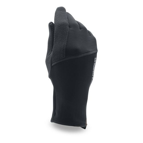 Womens Under Armour No Breaks CGI Liner Handwear - Black M