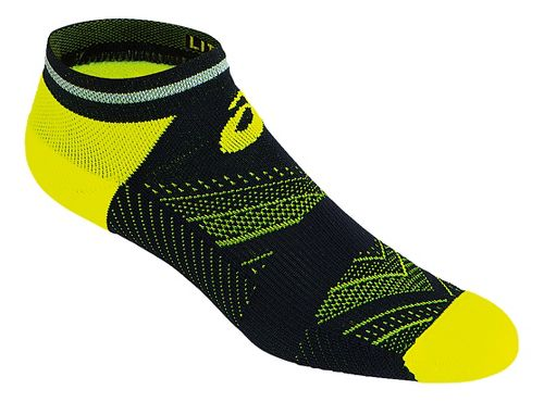 ASICS Lite-Show Low Cut 3 Pack Socks - Safety Yellow M