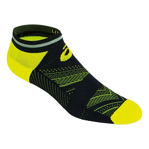 ASICS Lite-Show Low Cut 3 Pack Socks - Safety Yellow L