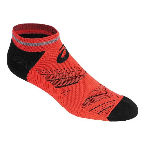 ASICS Lite-Show Low Cut 3 Pack Socks - Fiery Flame XL