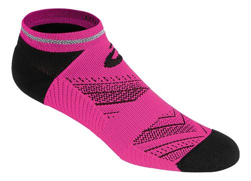 ASICS Lite-Show Low Cut 3 Pack Socks - Pink Glow L