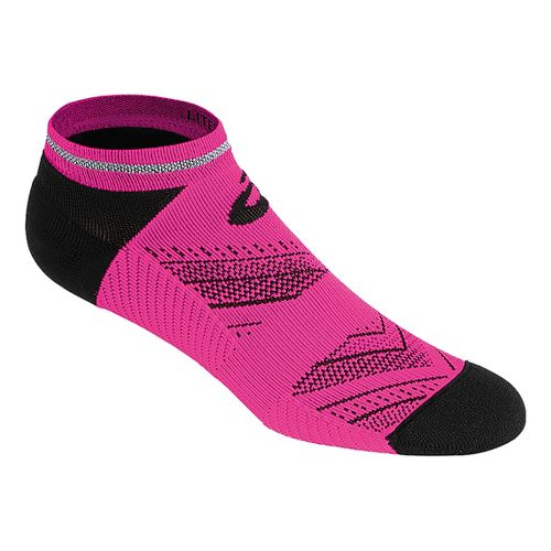 ASICS Lite-Show Low Cut 3 Pack Socks - Pink Glow S