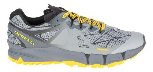 Mens Merrell Agility Peak Flex Trail Running Shoe - Wild Dove 10.5