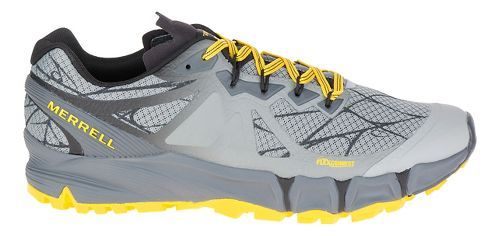 Mens Merrell Agility Peak Flex Trail Running Shoe - Wild Dove 11