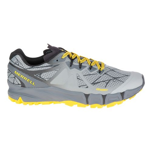 Mens Merrell Agility Peak Flex Trail Running Shoe - Wild Dove 9.5