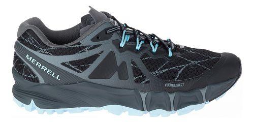 Womens Merrell Agility Peak Flex Trail Running Shoe - Black 6