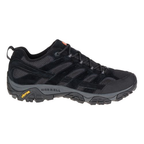 Mens Merrell Moab 2 Ventilator Hiking Shoe - Black Night 13