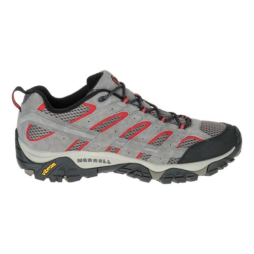 Mens Merrell Moab 2 Vent Hiking Shoe - Charcoal Grey 8.5