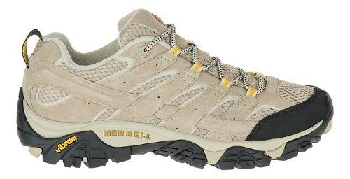 Womens Merrell Moab 2 Ventilator Hiking Shoe - Taupe 5.5
