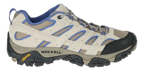 Womens Merrell Moab 2 Ventilator Hiking Shoe - Aluminum/Marlin 10.5