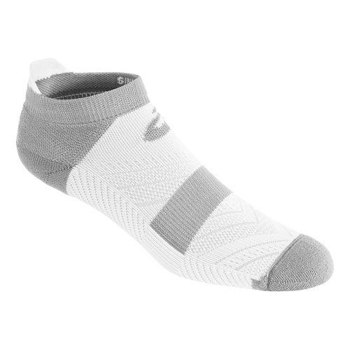 ASICS Lite-Tech Single Tab 3 Pack Socks - White M