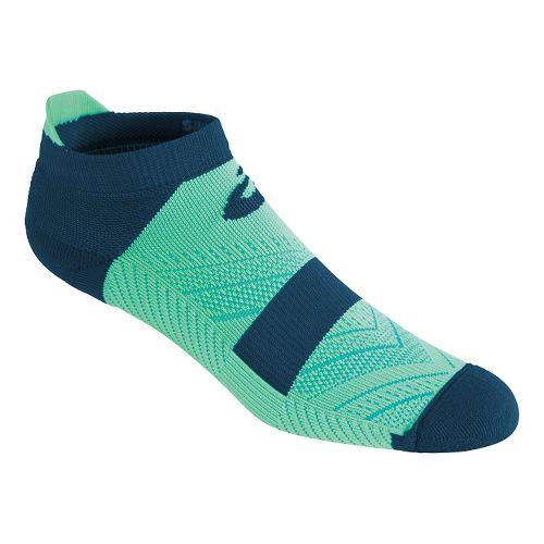 ASICS Lite-Tech Single Tab 3 Pack Socks - Aqua Mint/Blue M
