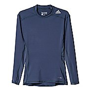 Mens Adidas Techfit LS Base Layer Long Sleeve Technical Tops