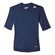 Mens Adidas Techfit Base Layer Short Sleeve Technical Tops