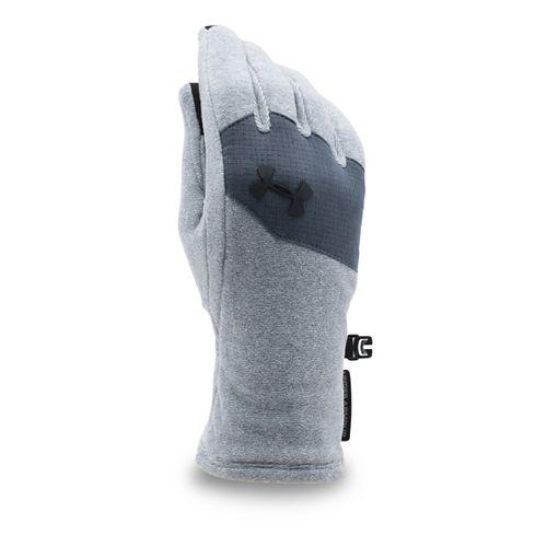 Under Armour Kids Survivor Fleece Glove Handwear - Steel/Black S