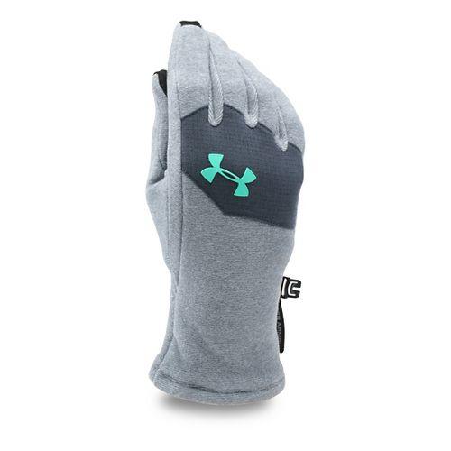 Under Armour Kids Survivor Fleece Glove Handwear - Steel/Crystal M