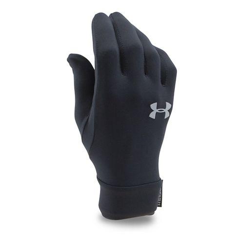 Under Armour Kids Armour Liner Handwear - Black/Steel S
