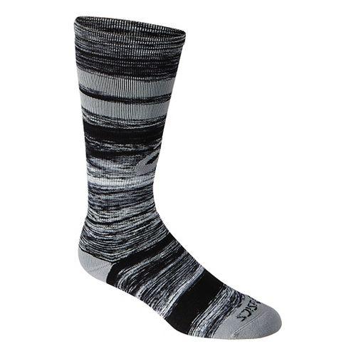 ASICS Old School Blur Knee High 3 Pack Socks - Black/Neon S