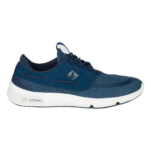 Mens Sperry 7 SEAS 3-Eye Casual Shoe - Navy 9.5