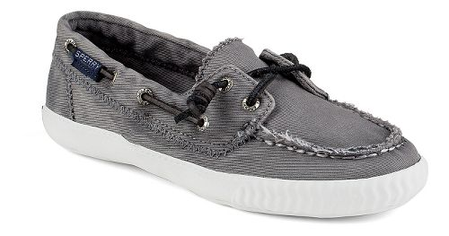 Womens Sperry Sayel Away Washed Casual Shoe - Grey 8