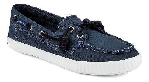 Womens Sperry Sayel Away Washed Casual Shoe - Navy 7