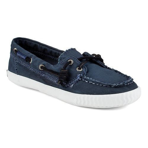 Womens Sperry Sayel Away Washed Casual Shoe - Navy 6.5