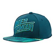 Under Armour Boys Eyes Up 3.0 Flat Brim Stretch Fit Cap Headwear