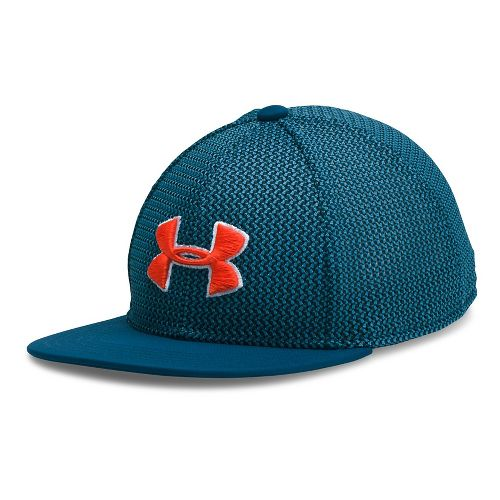 Under Armour Boys Twist Knit Snapback Headwear - Blackout Navy/Blue