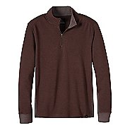Mens prAna Irwin 1/4 Zip Long Sleeve Non-Technical Tops