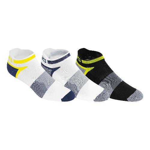 ASICS Quick Lyte Cushion Single Tab 9 Pack Socks - Indigo Blue Assorted S