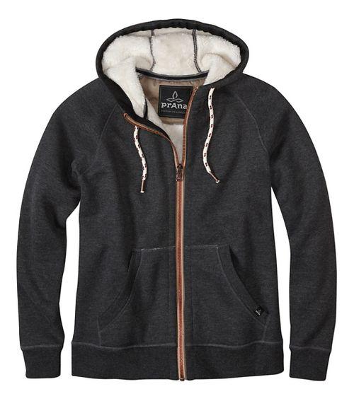 Lifestyle Full Zip Sherpa Hood Half-Zips & Hoodies Non-Technical Tops - Black XL