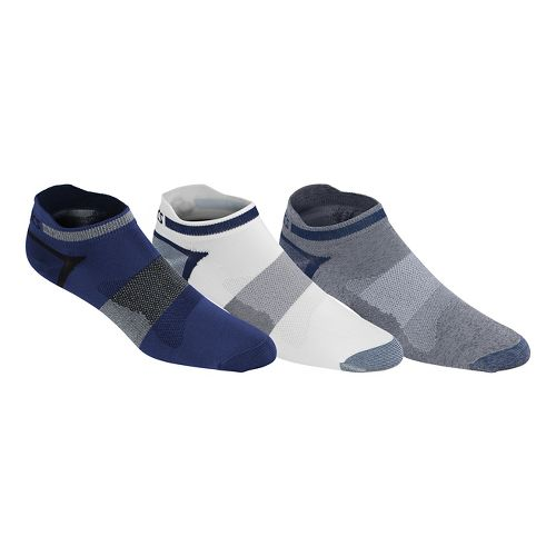 ASICS Quick Lyte Single Tab 9 Pack Socks - Indigo Blue Assorted XL