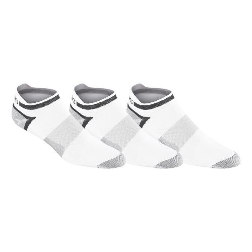 ASICS Quick Lyte Single Tab 9 Pack Socks - White M