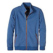Mens prAna Lifetime Full Zip Mock Half-Zips & Hoodies Non-Technical Tops