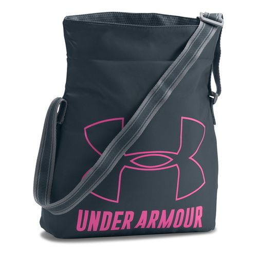 Under Armour Girls Armour Crossbody Bags - Stealth Grey/Pink