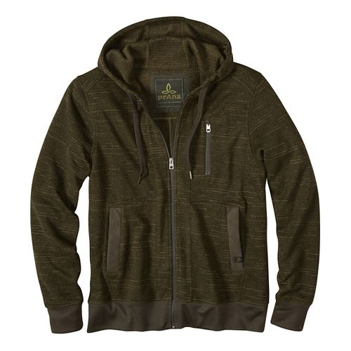 Performance Fleece Half-Zips & Hoodies Non-Technical Tops - Green L