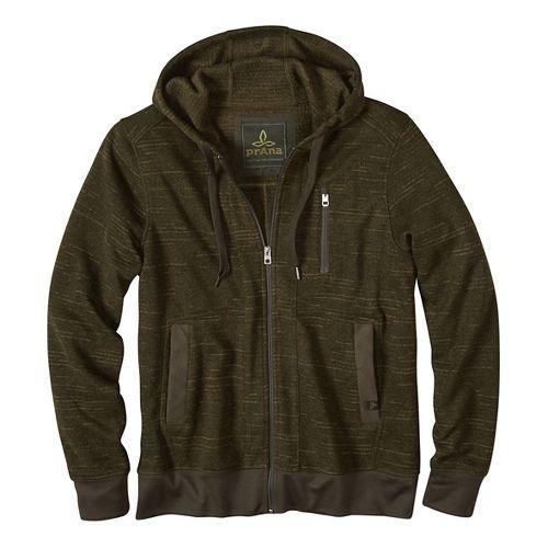 Performance Fleece Half-Zips & Hoodies Non-Technical Tops - Green M