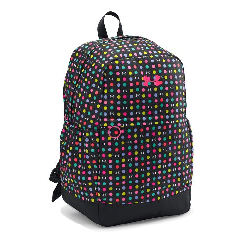 Under Armour Girls Favorite Backpack Bags - Black/Harmony Red