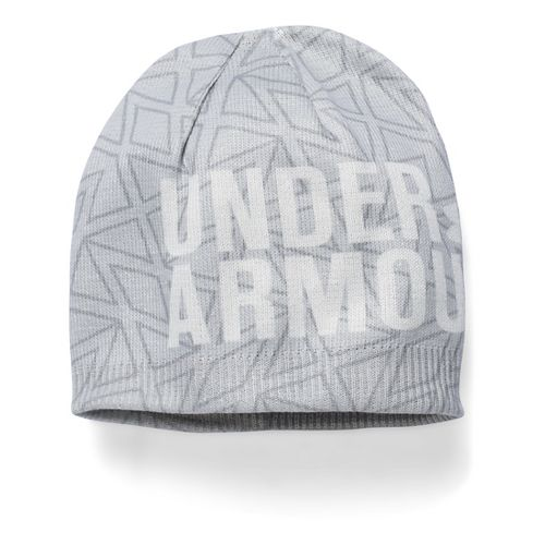Under Armour Girls Graphic Beanie Headwear - Glacier Grey/Steel