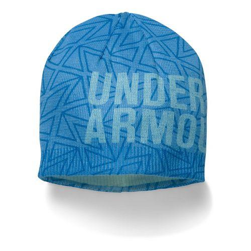 Under Armour Girls Graphic Beanie Headwear - Water/Aqua Falls