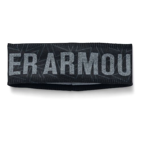 Under Armour Girls Graphic Fleece Band Headwear - Black