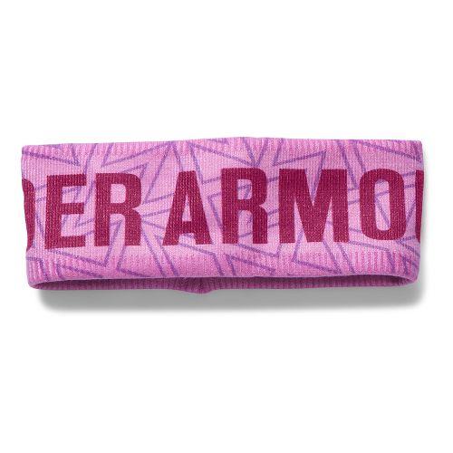 Under Armour Girls Graphic Fleece Band Headwear - Verve Violet
