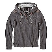 prAna Hooded Henley Sweater Half-Zips & Hoodies Non-Technical Tops
