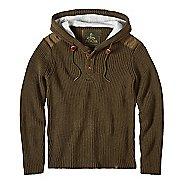 prAna Hooded Henley Sweater Half-Zips & Hoodies Non-Technical Tops