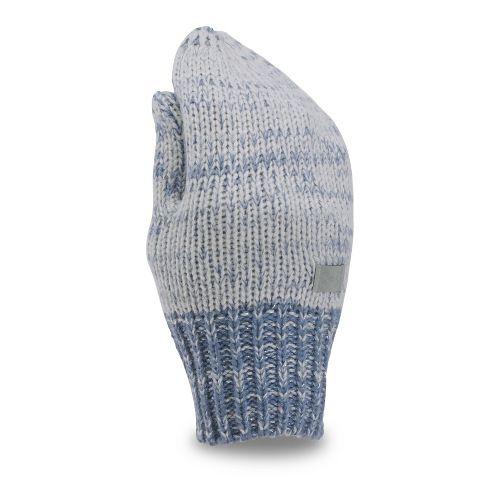 Under Armour Girls Shimmer Mittens Handwear - Glacier Grey/Purple Y