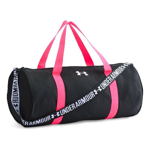 Under Armour Girls Favorite Duffel Bags - Black/Harmony Red
