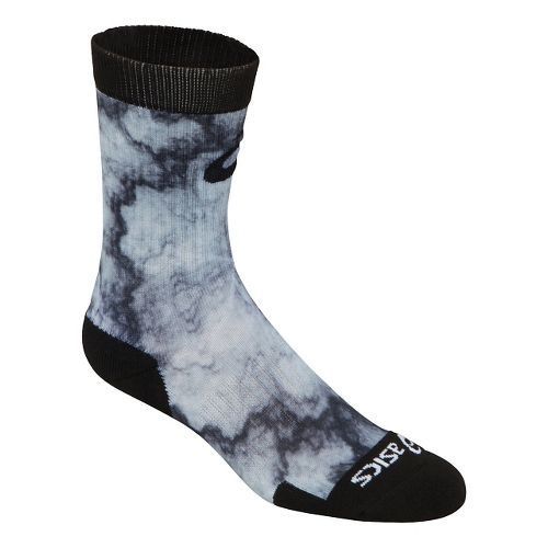 ASICS TM Multi Print Crew 3 Pack Socks - Grey Lightning S